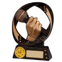 Typhoon Microphone Singing Trophy